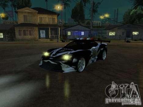 Chevrolet Corvette C6 из NFS MW для GTA San Andreas