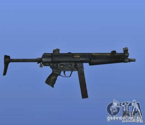 S.T.A.L.K.E.R. MP5 для GTA 4