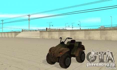 Квадроцикл из TimeShift для GTA San Andreas