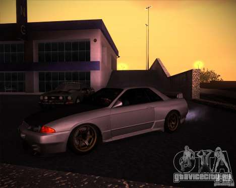 Nissan Skyline (R32) SHE для GTA San Andreas вид слева