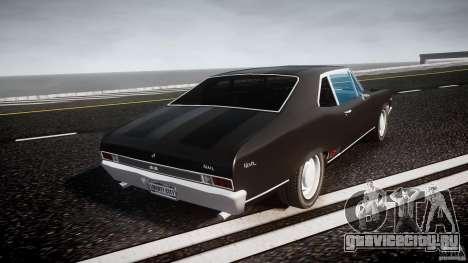 Chevrolet Nova 1969 для GTA 4 вид сбоку