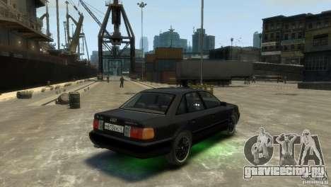 Audi 100 для GTA 4 вид слева