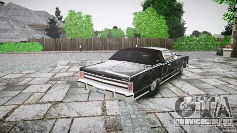 Lincoln Continental Town Coupe v1.0 1979 для GTA 4 вид сверху