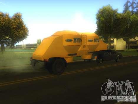 Полуприцеп муковоз К4-АМГ для GTA San Andreas