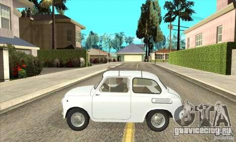 Заз - 965 для GTA San Andreas вид слева