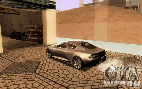Aston Martin Virage V1.0 для GTA San Andreas салон