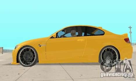 BMW M3 2008 Hamann v1.2 для GTA San Andreas вид сзади