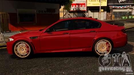 BMW M5 F10 2012 Hamann для GTA 4 вид слева