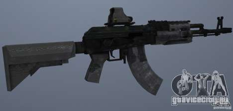 AK47+Holographic sight для GTA San Andreas