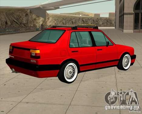 Volkswagen Jetta 1987 Eurostyle для GTA San Andreas вид слева