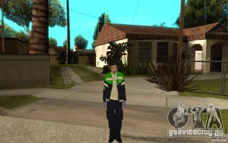 Русский фельдшер скорой помощи для GTA San Andreas