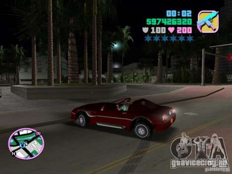 Phobos VT из Gta Liberty City Stories для GTA Vice City вид слева
