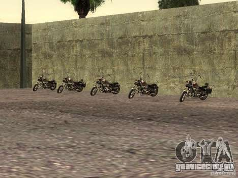 Реалистичная школа байкеров V1.0 для GTA San Andreas четвёртый скриншот