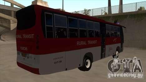 Rural Transit 10206 для GTA San Andreas вид справа