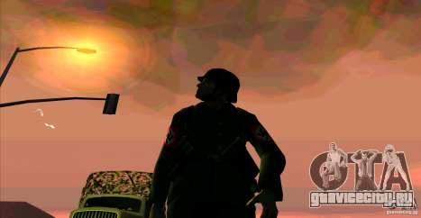 Солдат Вермахта для GTA San Andreas второй скриншот