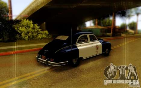 Packard Touring Police для GTA San Andreas вид слева