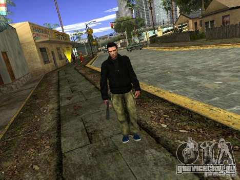 Claude HD Remake (Beta) для GTA San Andreas третий скриншот