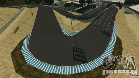 Laguna Seca [Final] [HD] для GTA 4 второй скриншот