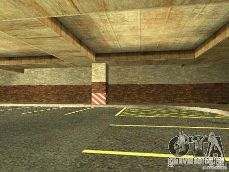Новый подземный гараж полиции в Лос Сантосе для GTA San Andreas четвёртый скриншот