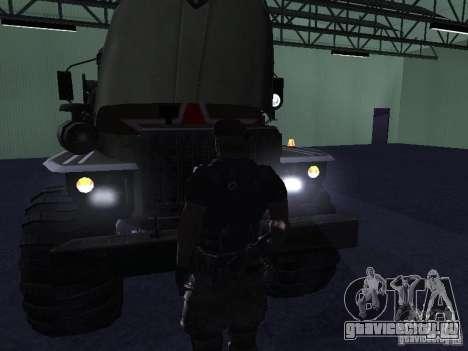 Урал 43206 Парадный для GTA San Andreas вид сзади слева