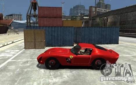 Ferrari 250 Le Mans для GTA 4 вид слева