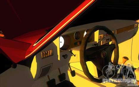 ГАЗ 3102 Волга Лимузин для GTA San Andreas вид изнутри