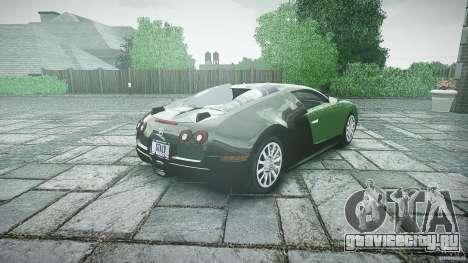 Bugatti Veyron 16.4 для GTA 4 вид сбоку