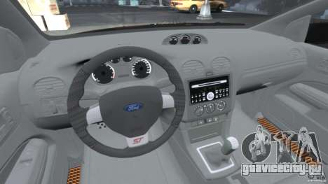 Ford Focus ST для GTA 4 вид справа