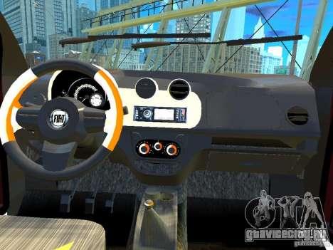 Fiat Novo Uno Sporting для GTA 4 вид изнутри