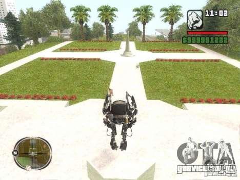 Robot из Portal 2 №2 для GTA San Andreas второй скриншот
