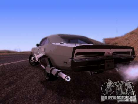 Dodge Charger 1970 Fast Five для GTA San Andreas вид слева