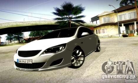 Opel Astra Senner для GTA San Andreas вид слева