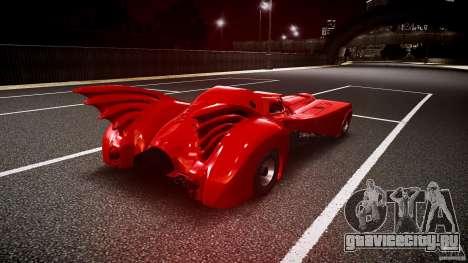 Batmobile Final для GTA 4 вид сбоку