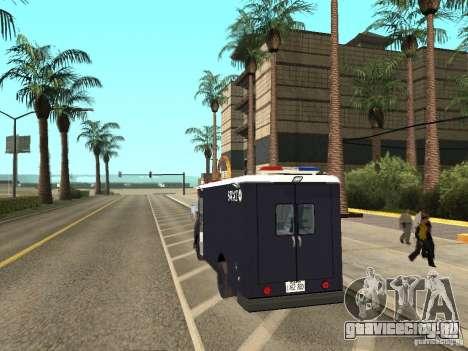 S.W.A.T. Лос-Анджелес для GTA San Andreas вид слева