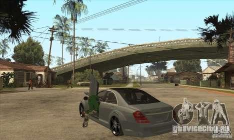 Mercedes Benz Panorama 2011 для GTA San Andreas вид сзади слева