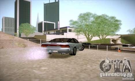 Nissan 240SX 1990 для GTA San Andreas вид сзади слева