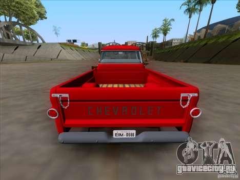 Chevrolet Apache GM 1959 для GTA San Andreas вид справа