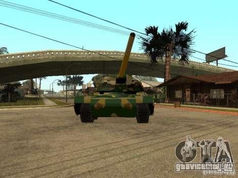 Камуфляж для Rhino для GTA San Andreas вид слева