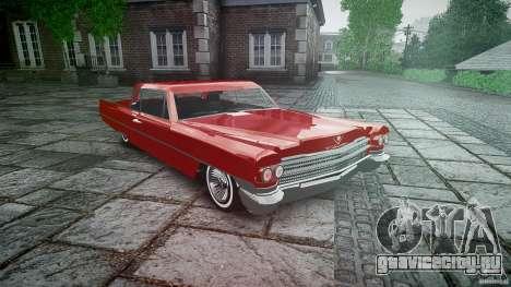 Cadillac De Ville v2 для GTA 4 вид сзади
