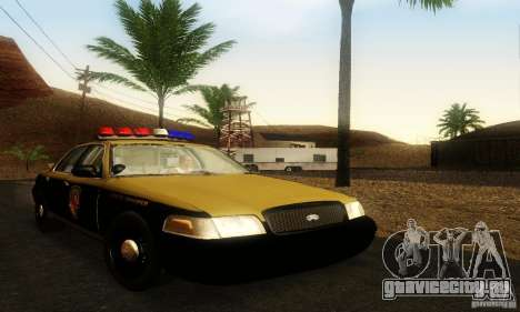 Ford Crown Victoria Maryland Police для GTA San Andreas