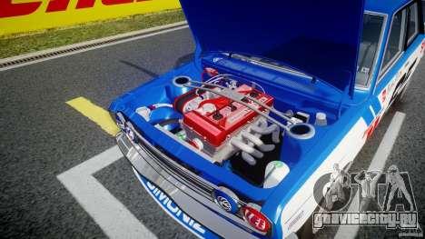 Datsun Bluebird 510 1971 BRE для GTA 4 вид сверху