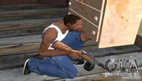 ППШ-41 для GTA San Andreas третий скриншот