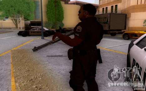 Полицейский из CoD: BO2 для GTA San Andreas четвёртый скриншот