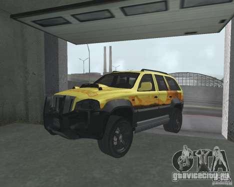 Внедорожник из NFS для GTA San Andreas