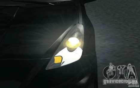Toyota Celica для GTA San Andreas салон