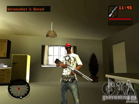 GTA IV Animation in San Andreas для GTA San Andreas пятый скриншот