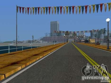 Новые текстуры пляжа v2.0 для GTA San Andreas