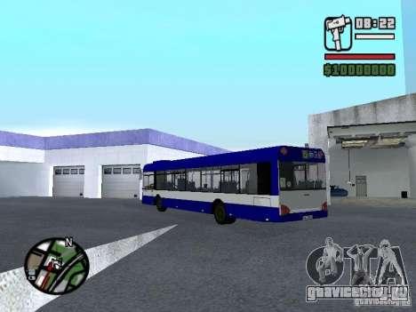 Solaris Urbino 12 для GTA San Andreas вид сзади слева