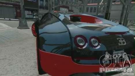 Bugatti Veyron 16.4 Super Sport для GTA 4 вид слева