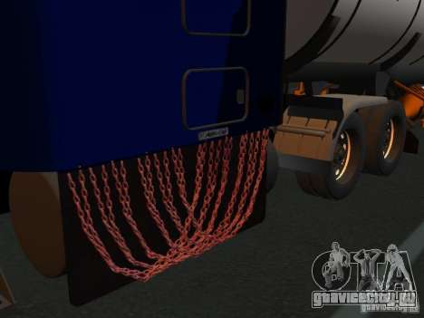 Kenwort T800 Carlile для GTA San Andreas вид сзади